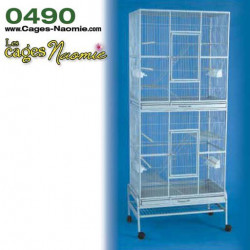 0490 – Cage Double Verticale Deluxe